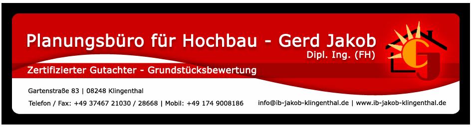 ib-jakob-klingenthal.de  Ihr Planungsbüro für Hochbau - Gerd Jakob Dipl.-Ing.(FH):.
